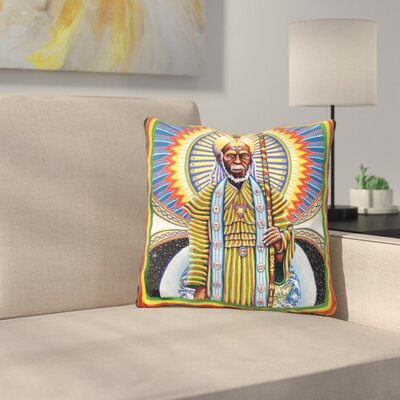 Holyman Throw Pillow