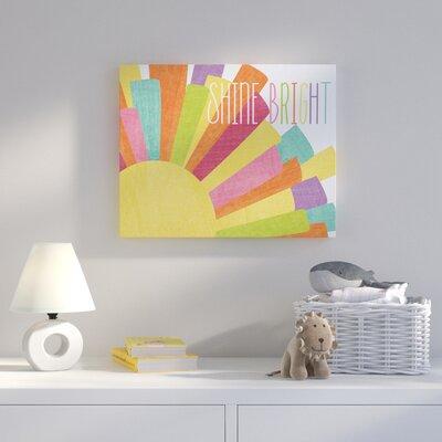 'Shine Bright Colourful Sun' Graphic Art Print HBEE1438 39062395