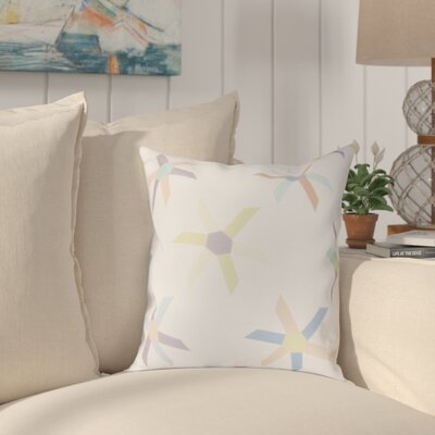 Boubacar Pinwheel Pop Geometric Throw Pillow Size: 18 H x 18 W, Color: Lavender