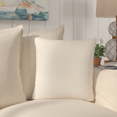 Dugan Soft Suede Throw Pillows Color: Beige
