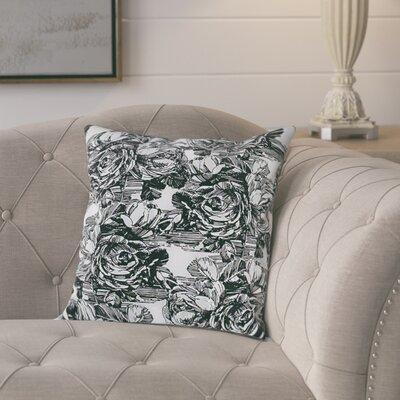 Siegel Cotton Pillow Cover Color: Dark Gray