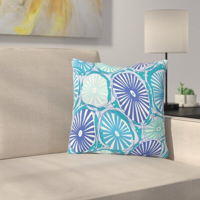 Sea Coral by Jacqueline Milton Throw Pillow Size: 16 H x 16 W