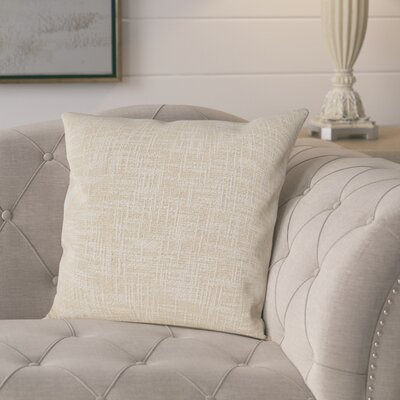 Mirada Woven Metallic Throw Pillow Color: Gold