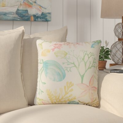 Taifa Coastal Cotton Throw Pillow