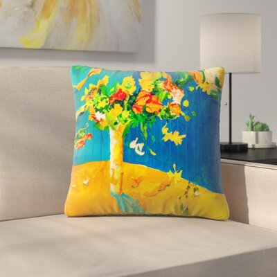 Sunshine Taylor Flowers Set Free Indoor/Outdoor Throw Pillow Size: 16 x 16