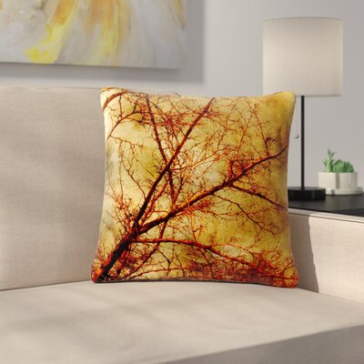 Sylvia Coomes Gothic Tree Nature Outdoor Throw Pillow Size: 18 H x 18 W x 5 D