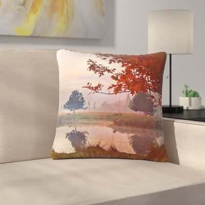 Pellerina Design Magic Morning Outdoor Throw Pillow Size: 18 H x 18 W x 5 D