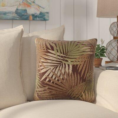 Danae Outdoor Throw Pillow Color: Brown