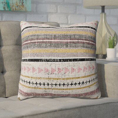 Duffin Stripe Throw Pillow Size: 18 H x 18 W x 6 D