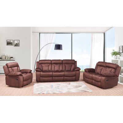 Dougan 3 Piece Living Room Set