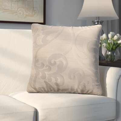 Chalfont Throw Pillow Color: Stone