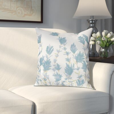 Orchard Lane Lavender Throw Pillow Size: 20 H x 20 W, Color: Blue