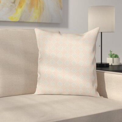 Diamond Line Tile Cushion Pillow Cover Size: 16 x 16