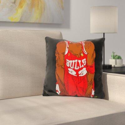 Jordan Flu Throw Pillow