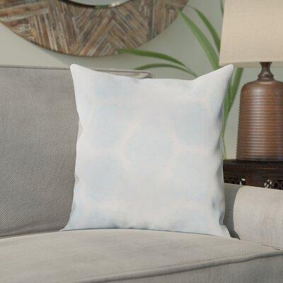 Aanya Indoor/Outdoor Throw Pillow Cover Color: Sky Blue