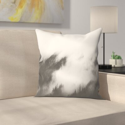 Luke Gram Rolling Fog I Throw Pillow Size: 20 x 20