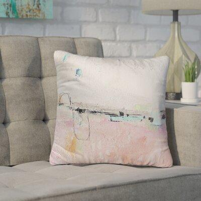 Lyka Pink Indoor/Outdoor Throw Pillow Size: 26 H x 26 W x 8 D