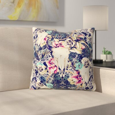 Marta Barragan Camarasa Throw Pillow Size: 16