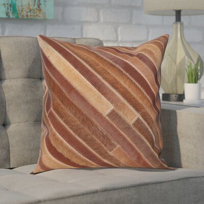 Whitchurch Throw Pillow Size: 22 H x 22 W, Color: Tan