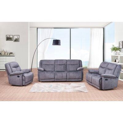 Downie 3 Piece Living Room Set