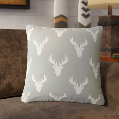 Altha Graphic Down Filled 100% Cotton Throw Pillow Size: 24 x 24, Color: Cool Gray
