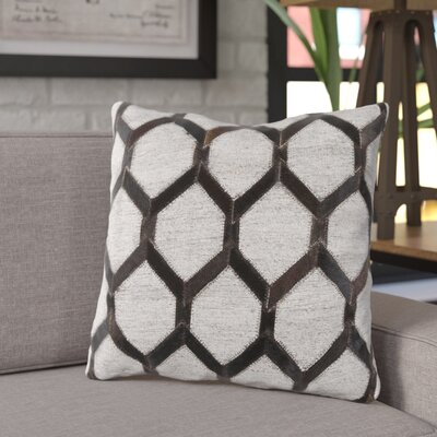 Rexburg Throw Pillow Color: Black