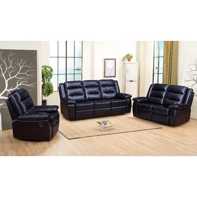 Downend 3 Piece Living Room Set