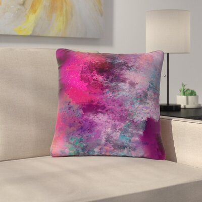 Nina May Mineral Outdoor Throw Pillow Size: 18 H x 18 W x 5 D