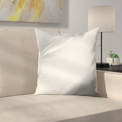 Ombre Lines Square Cushion Pillow Cover Size: 16 x 16
