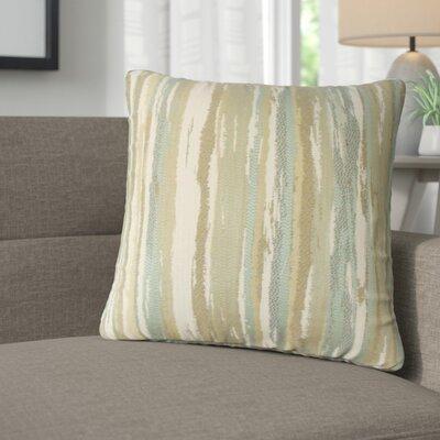Jordynn Stripes Throw Pillow Color: Sage