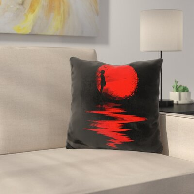 The Land of The Rising Sun Throw Pillow