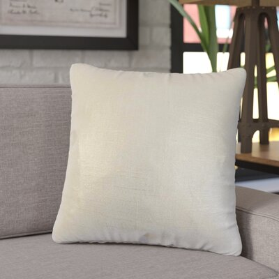 Singh Solid Linen Throw Pillow Color: Aqua