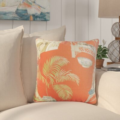 Colesville Animal Print Cotton Throw Pillow Color: Clay, Size: 18 x 18