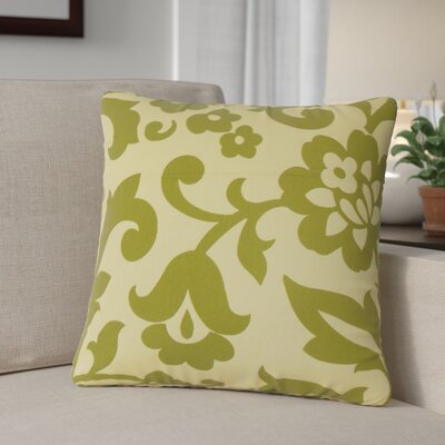 Sammi Floral Throw Pillow Color: Kiwi