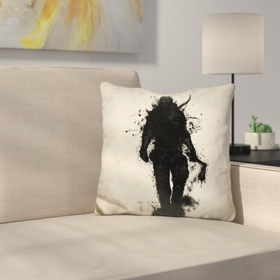 Apocalypse Hunter Throw Pillow