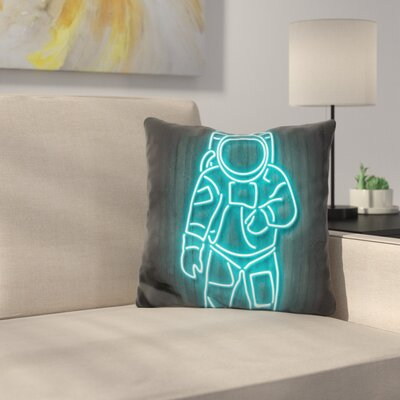 Astronaut Octavian Throw Pillow