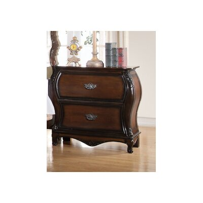 Ressler 2 Drawer Nightstand