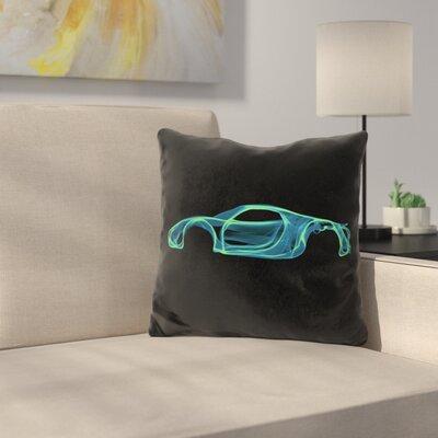 Porsche 918D Throw Pillow