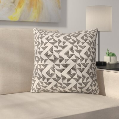 Throw Pillow Size: 18 H x 18 W x 5 D, Color: Neutral