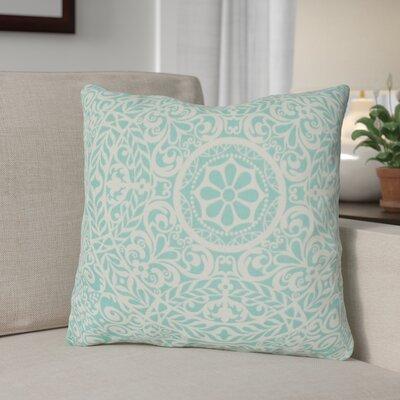 Plust Aqua Indoor/Outdoor Throw Pillow