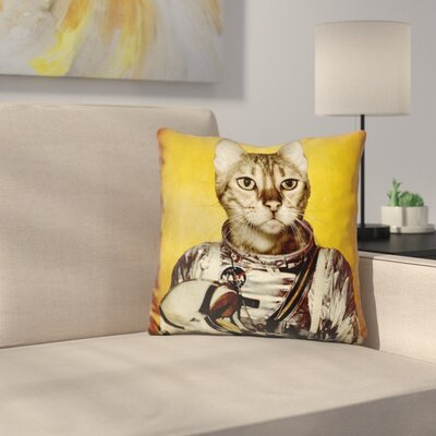 Follow Your Dreams Durro Sq Throw Pillow