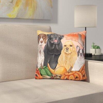 Great Indoor/Outdoor Harvest Throw Pillow