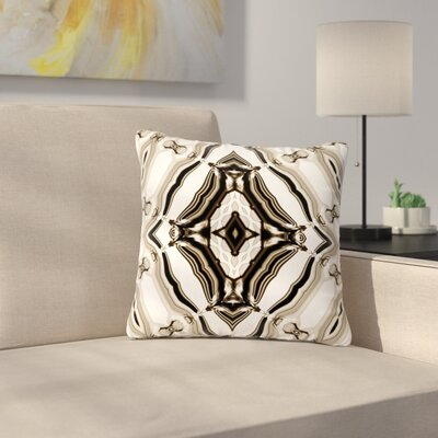 Dawid Roc Inspired by Psychedelic Art 6 Pattern Outdoor Throw Pillow Size: 16 H x 16 W x 5 D