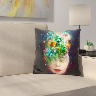 Herbal Movement Throw Pillow