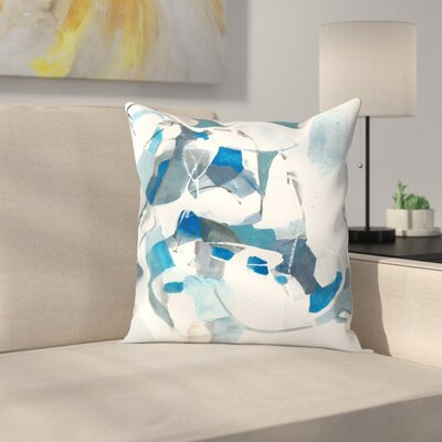Olimpia Piccoli Tides Throw Pillow Size: 14 x 14