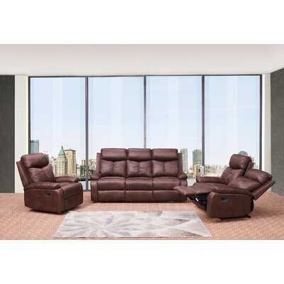 Douglass Circle 3 Piece Living Room Set