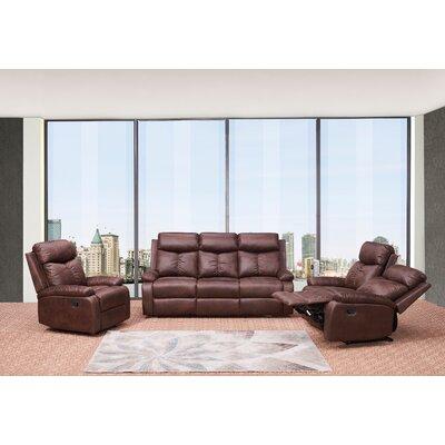 Douglass Circle 3 Piece Living Room Set