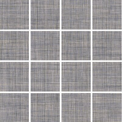 Linen 3 x 3 Porcelain Field Tile in Gray