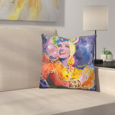 Carmen Miranda Throw Pillow