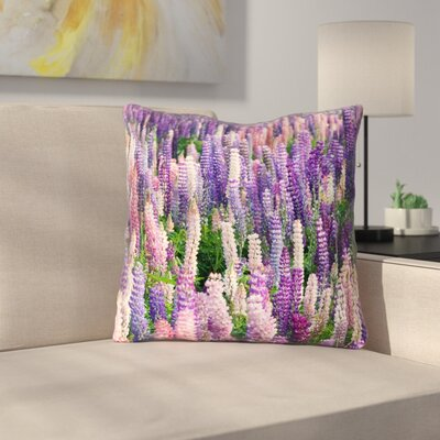 Joyeta Field Square Throw Pillow Size: 20 x 20